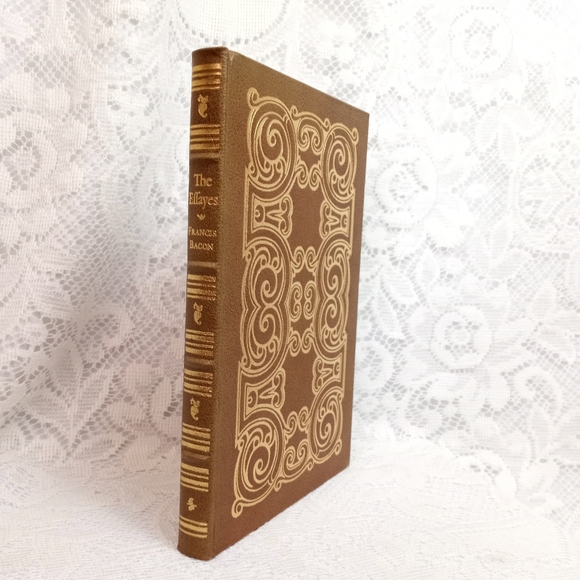 The Effays Bacon Leather Bound Easton Press 1980